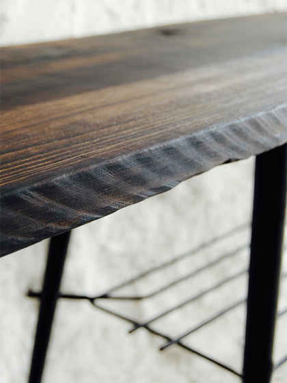 Shou Sugi Table